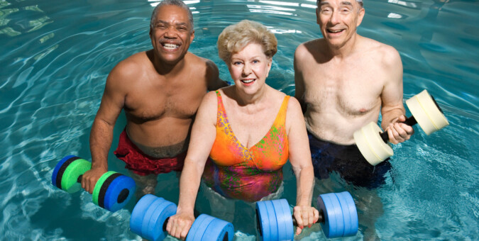 Is weight training the key to healthy aging?