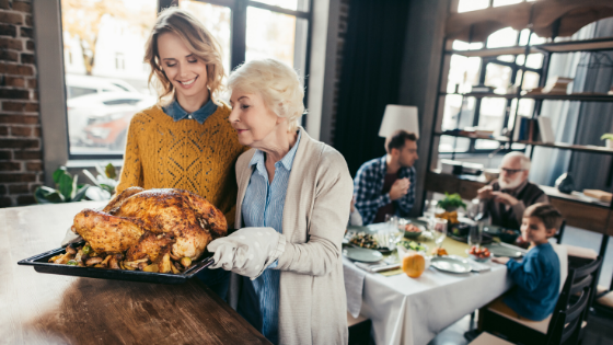 Helping Older Adults Have A Happy and Healthy Thanksgiving